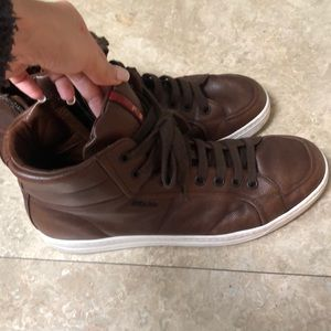 Prada leather man shoes size 9